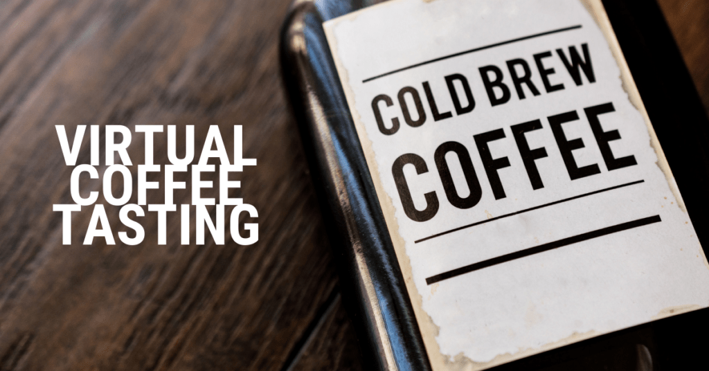Virtual Coffee Tasting Event for Team Building
