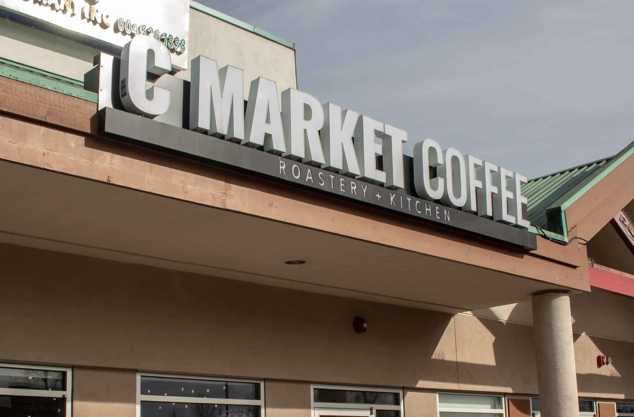 Outside of CMarket Coffee