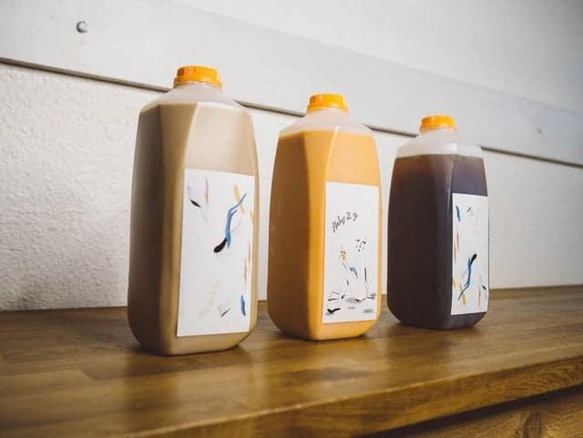 Bottles of Drinks at Modus